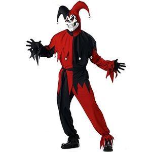 california costumes men's evil jester halloween costume